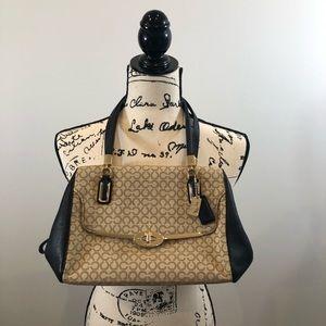 Coach signature crossbody/shoulder bag